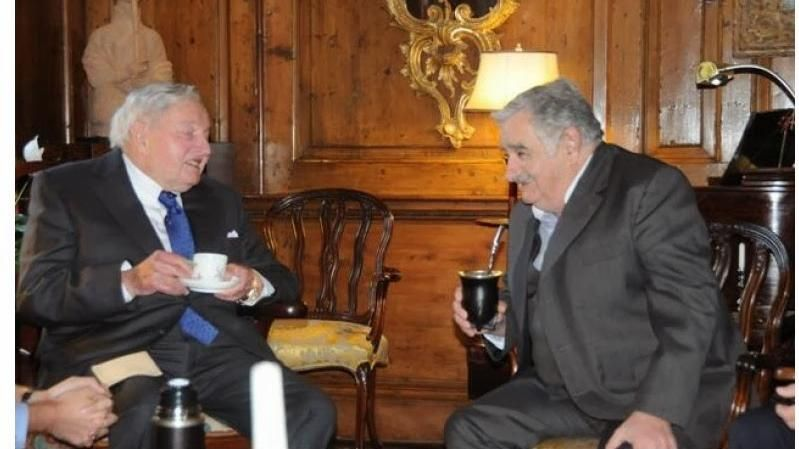 A los 101 años murió Rockefeller, visitante de Uruguay y amigo de Mujica