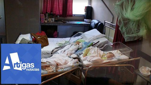 Padre de trillizos de Bella Unión pide ayuda para acceder a vivienda digna
