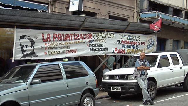Trabajadores de Montevideo gas ocupan oficinas de Ciudad Vieja