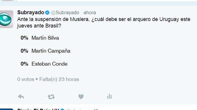 PREGUNTA DEL DÍA:  ¿a quién recurrirá Oscar Tabárez?