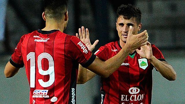 De atrás y en la hora, con dos goles de Affonso ganó Peñarol 3-2 ante Rampla