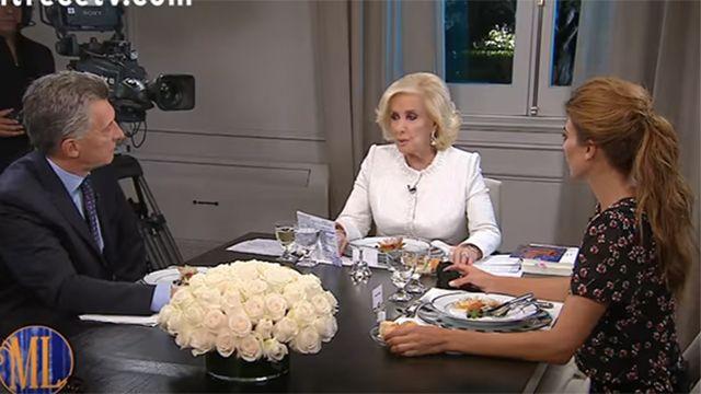 Mirtha Legrand enfrentó duramente a Macri: ustedes no ven la realidad