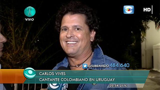 Así describió Carlos Vives a Montevideo mientras paseaba por La Rambla