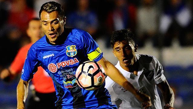 Nacional perdió 0-1 con el Zulia de Venezuela en el Gran Parque Central
