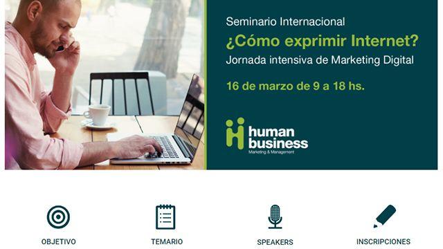 Seminario Internacional: ¿Cómo exprimir Internet?