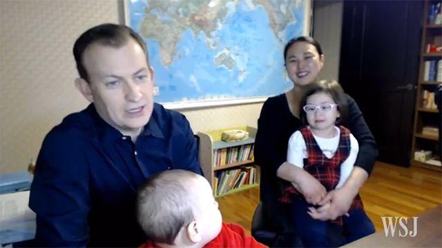 La familia del video viral de BBC comentó el desopilante momento
