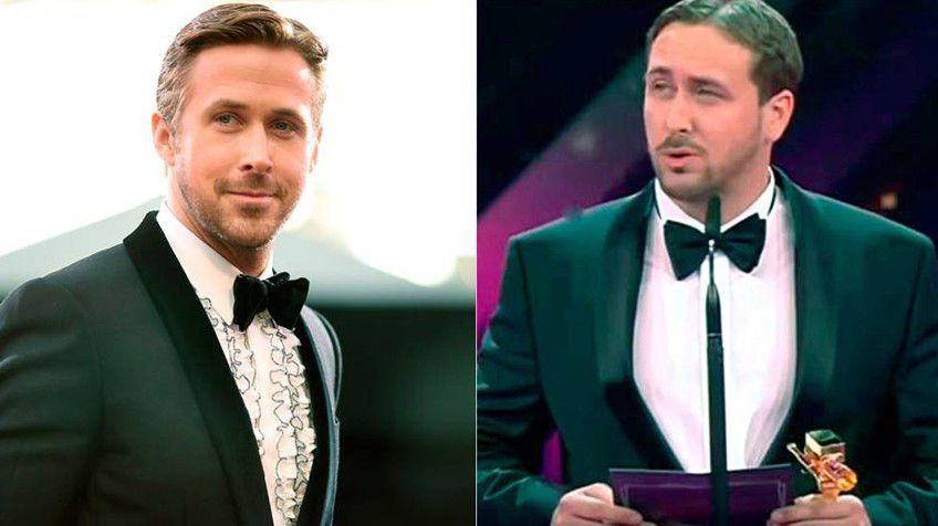 Falso Ryan Gosling recibe premio en festival de cine alemán por La La land