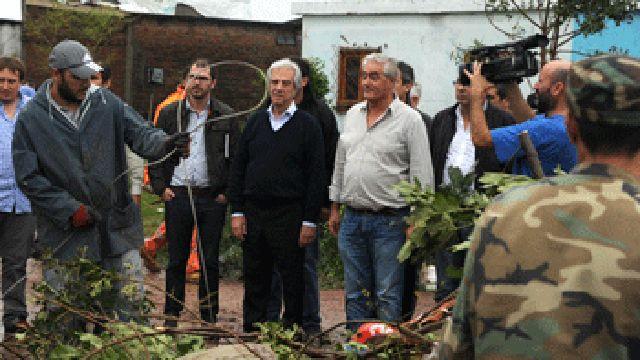Presidente Tabaré Vázquez realiza visita sorpresa a Dolores