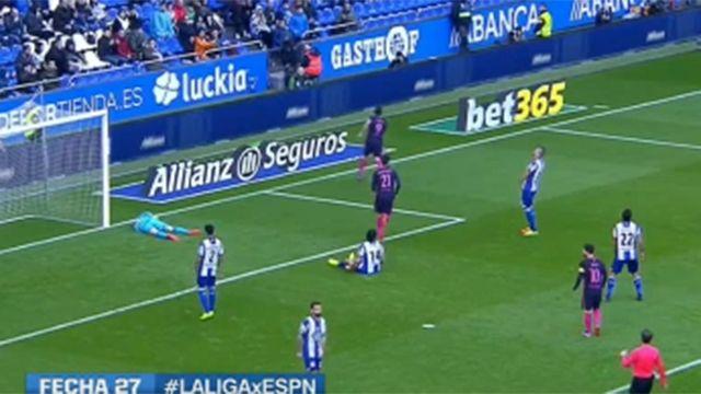 Luis Suárez anotó gol para el Barcelona pero no fue suficiente
