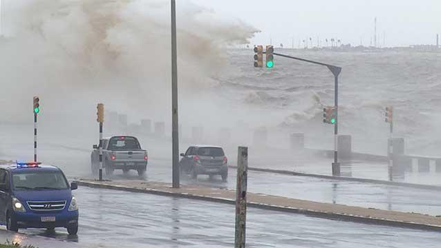 No se anuncia un ciclón para Uruguay, pero SINAE igual hace recomendaciones