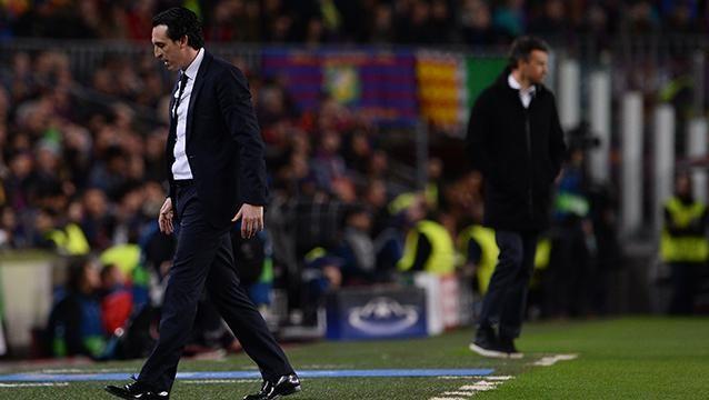 Presidente del PSG confirmó al DT Unai Emery, vapuleado por Barcelona