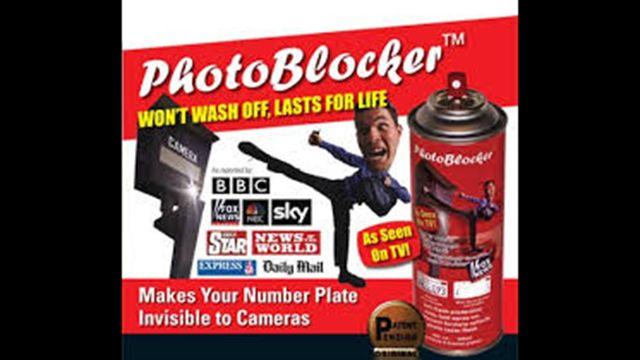 Photoblocker, el spray antimultas que pone en cuestión cámaras de tránsito