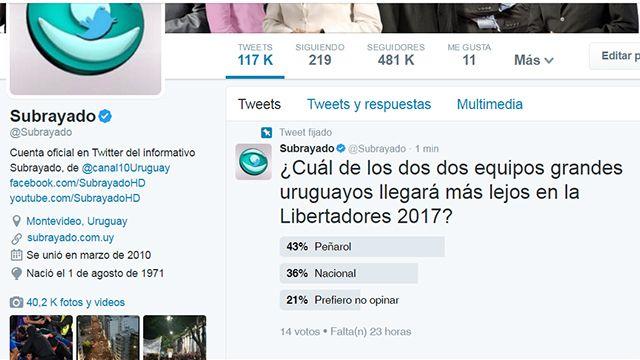Pregunta: ¿Quién llegará más lejos en la Libertadores: Peñarol o Nacional?
