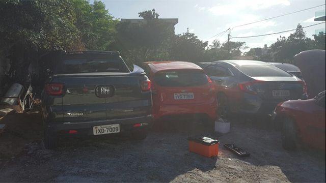 Catorce uruguayos detenidos por venta de autos robados