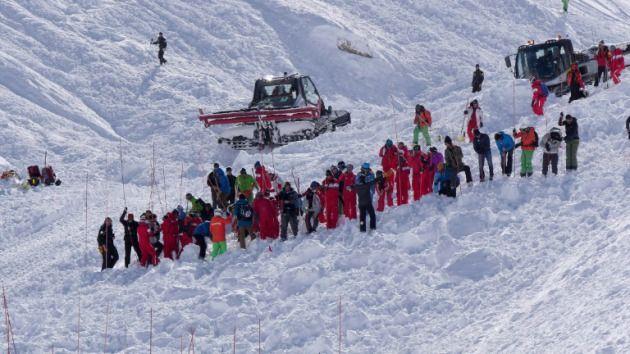 Alud en pista de esquí en los Alpes no causó muertos