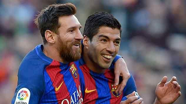 Barcelona goleó 5-0 al Celta con Suárez de titular y sigue líder