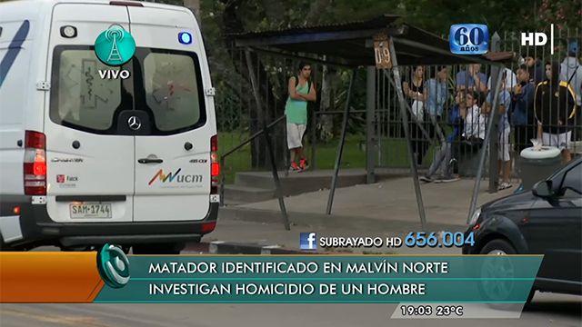 Joven de 20 años fue asesinado en una parada de ómnibus en Malvín Norte