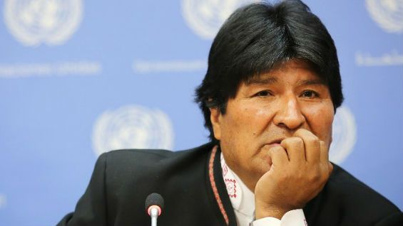 Evo Morales viaja a Cuba urgente para tratar un problema de garganta