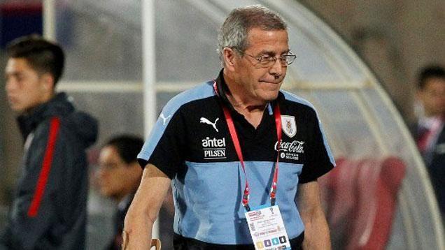 Tabárez opinó sobre el conflicto de los jugadores y la situación de Amaral