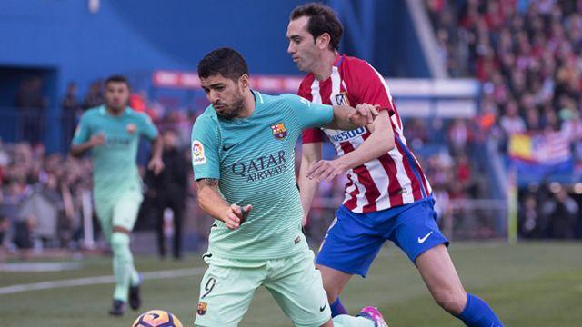 A pesar del gol de Godín, el Barcelona se impuso al Atlético Madrid