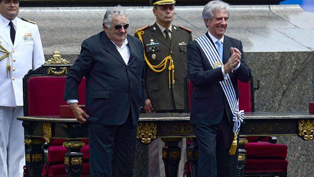 Preocupación en el entorno de Mujica por la frialdad de Tabaré Vázquez