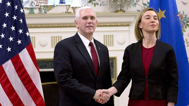 Trump puso ultimátum a Europa para aumento del gasto militar antiterrorista