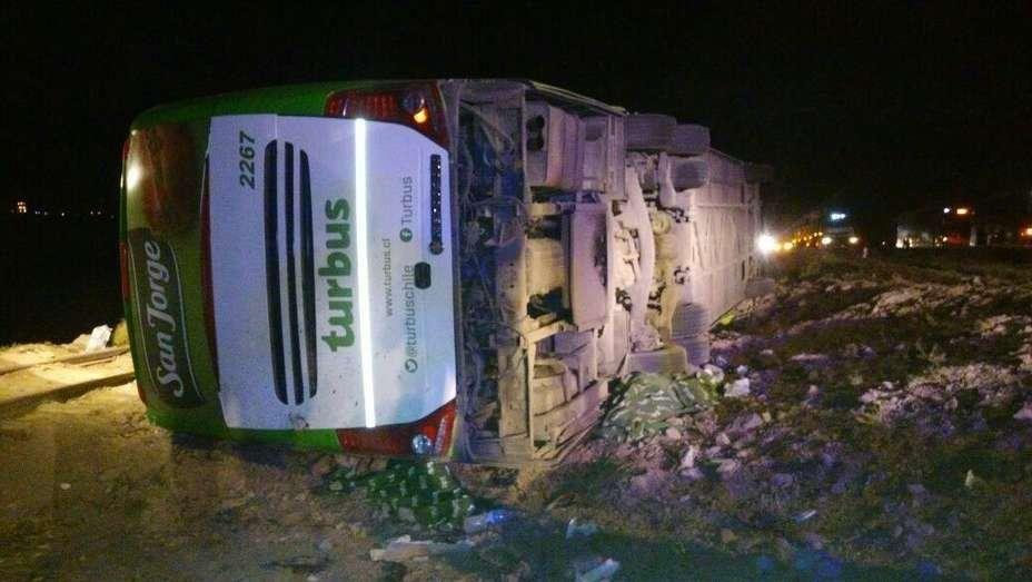 Tragedia en Mendoza: 19 muertos en un vuelco de ómnibus con destino a Chile