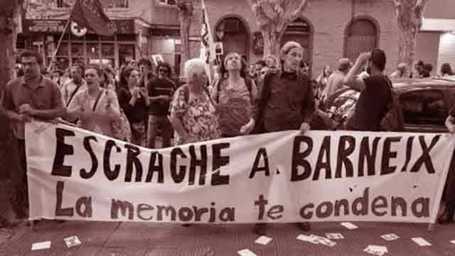 Comando Barneix amenazó a 13 personalidades de los derechos humanos