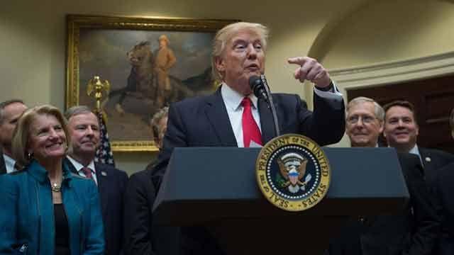 Donald Trump asegura que heredó un desastre de la administración Obama
