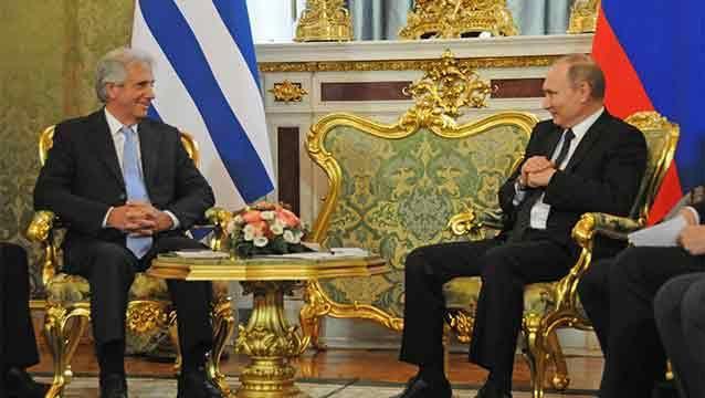 """Vázquez: """"Damos la bienvenida a los empresarios rusos"""""""