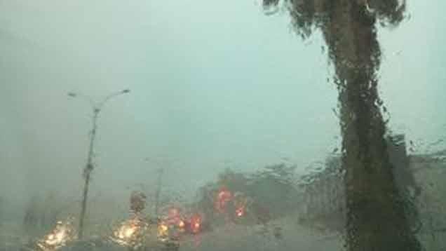 Alerta amarilla para el norte por tormentas intensas y lluvias abundantes