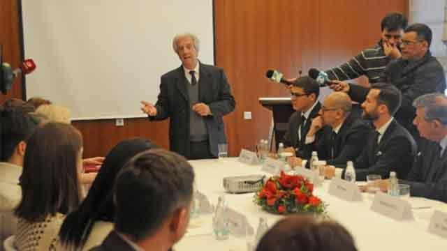 Vázquez invitó a Putin a Uruguay; ambos reunidos en el Kremlin