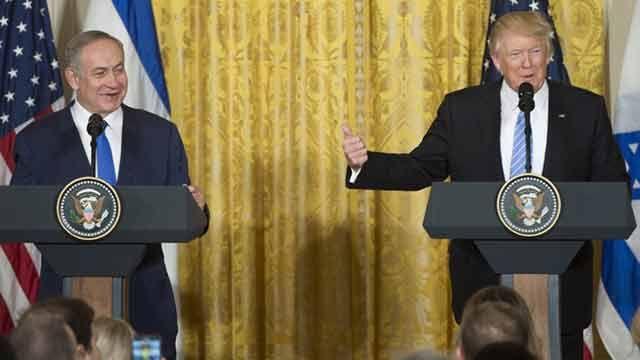 Trump pidió a Israel flexibilidad para alcanzar la paz con Palestina