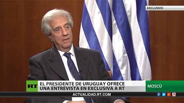 Vázquez en RT: Uruguay quiere ser la puerta de acceso de Rusia a la región