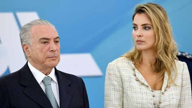 Medios brasileños denuncian censura a noticia sobre esposa de Temer