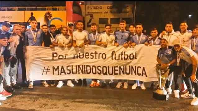 #MásUnidosqueNunca La Sub 20 se suma a la lucha por los derechos de imagen