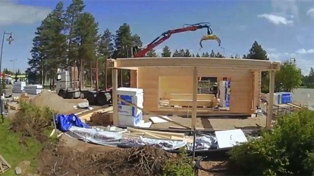 Uruguayos se capacitarán en Finlandia en la construcción de casas en madera