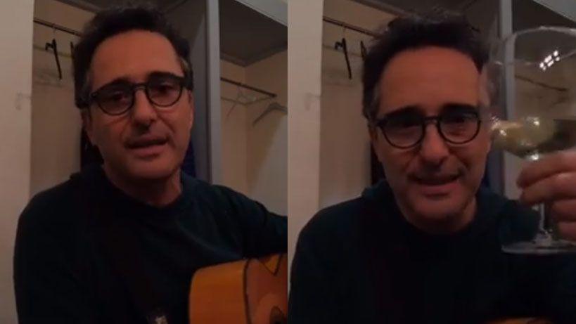 Jorge Drexler le canta a Joaquín Sabina una canción inédita en Facebook