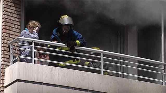 Falleció la mujer que resultó herida en incendio en Pocitos