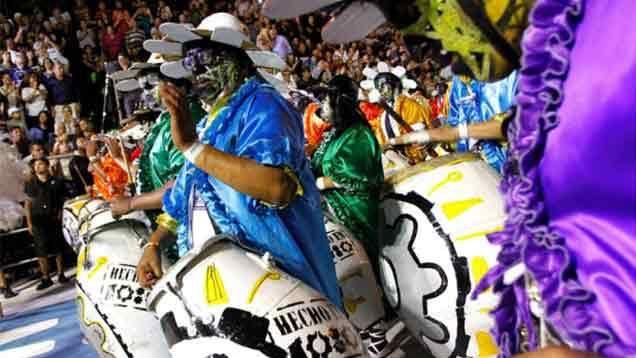 C 1080 ganó el desfile de Llamadas y tiene la mejor cuerda de tambores