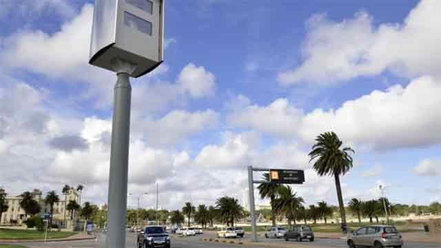 Intendencia instalará 100 puntos más de control de tránsito con cámaras