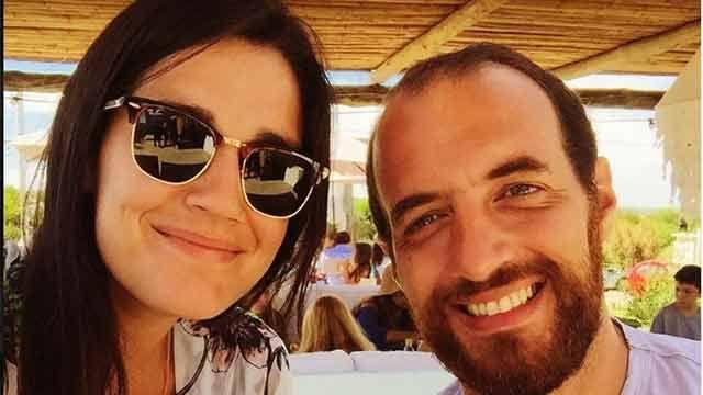 Boda en puerta: Fernando Amado y su novia se anotaron para casarse