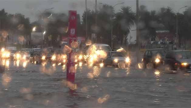 """Alerta amarilla por """"lluvias abundantes y tormentas intensas"""""""