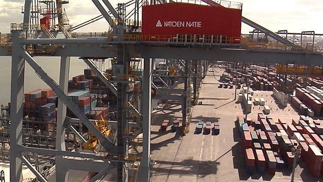 Katoen Natie denuncia a la ANP por irregularidades en obras del puerto