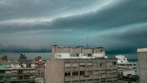 Alertan de lluvias y tormentas para todo el país durante sábado y domingo