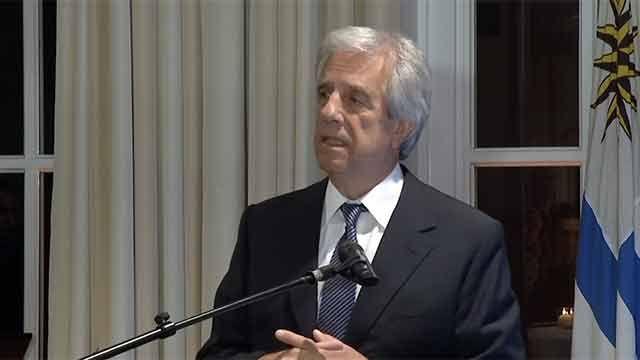 Vázquez conmovido por dichos de empresarios alemanes sobre Uruguay