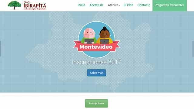 Abren inscripciones para beneficiarios del Plan Ibirapitá en Montevideo
