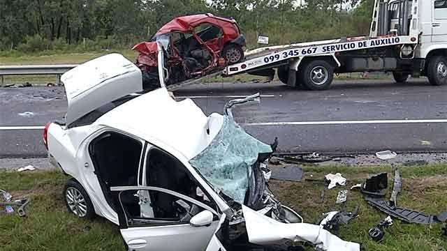 Hurto y fuga a contramano por ruta 1 provocó trágico choque: 8 fallecidos