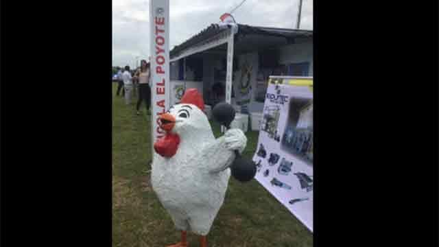Presidente interino Sendic inaugura Expo Avícola 2017 en San Bautista