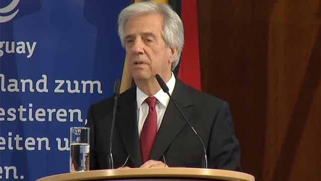 Necesitamos inversión extranjera, dijo Vázquez ante empresarios alemanes